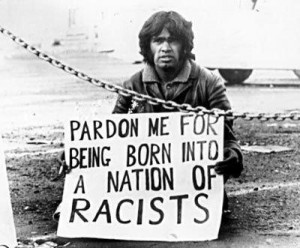 aborigine protests racism