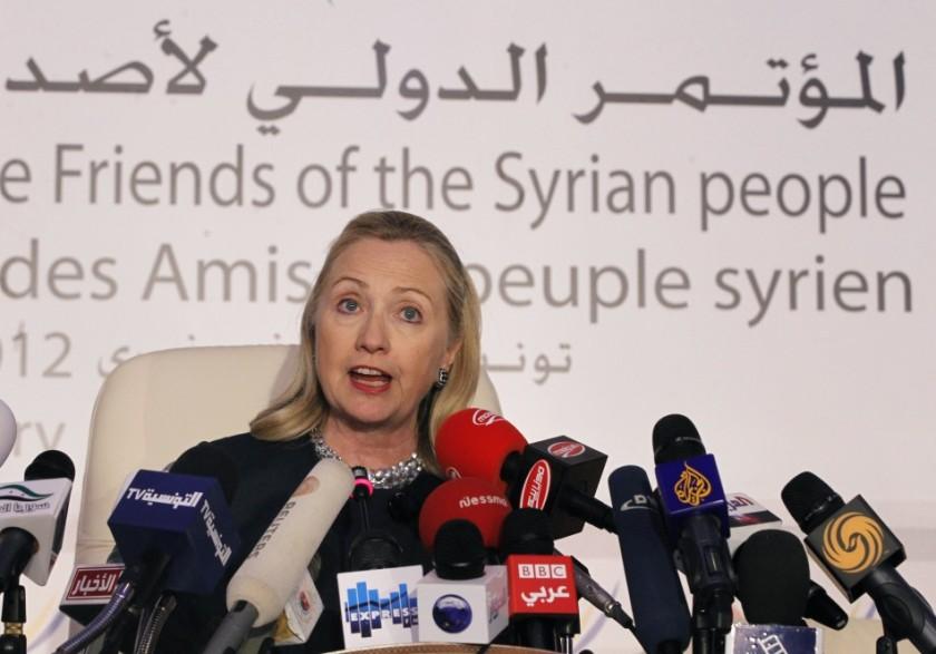 HillaryClintonSyria