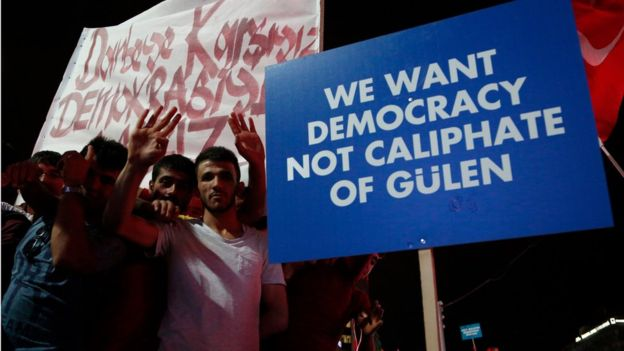 anti-Gulen protests