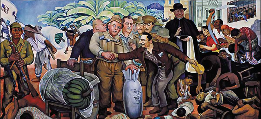 the history of the mexican revolution in diego riveras man controller of the universe Of mexican history gather diego rivera, and josé clemente orozco diego rivera detroit industry murals man at the crossroads man controller of the universe.