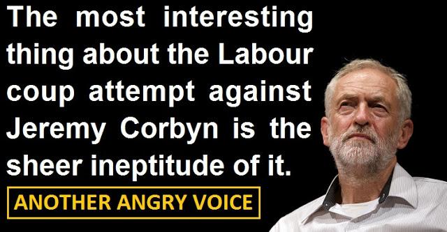 Jeremy Corbyn Coup inept