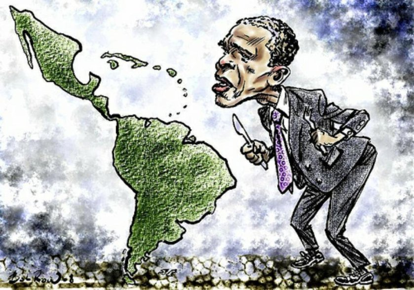 Obama carves Latin America
