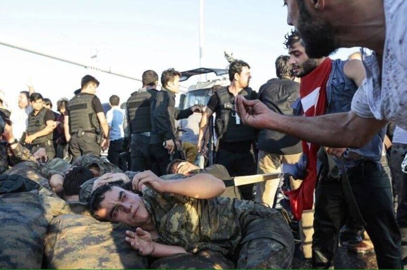 "In Turkey, where the attempted coup failed and arms went silent after 24 hours of clashes and killings, civilian fascism has won over military fascism – even as both competed to project each camp as ""the better protector of Democracy""!"