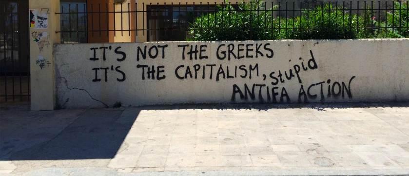 it's not greece it's capitalism