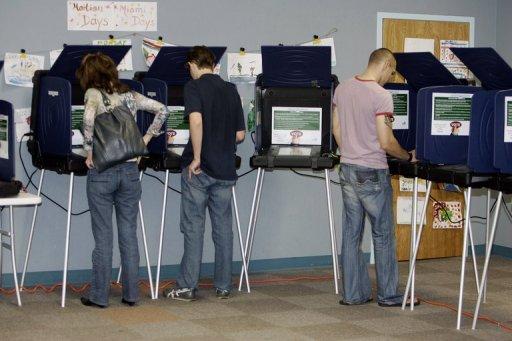 voting machines USA