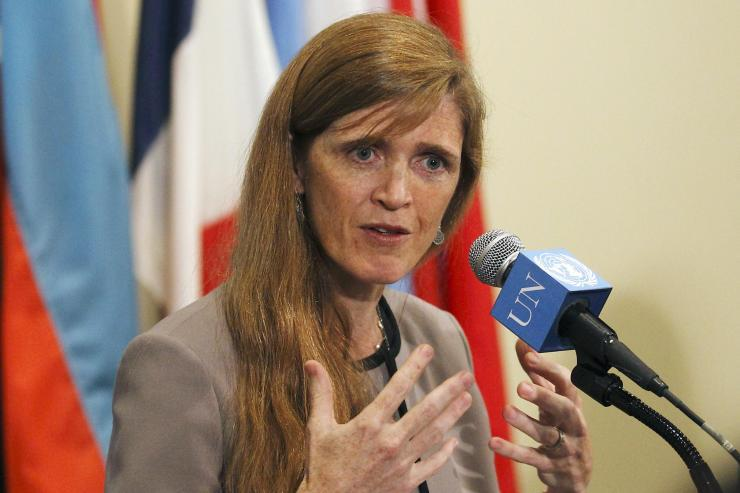 the Grand HIgh Witch Samantha Power, US ambassador to the UN