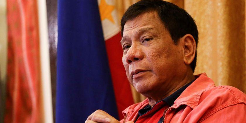 Philippines' President Rodrigo Duterte (Photo credit: MANMAN DEJETO/AFP/Getty Images)