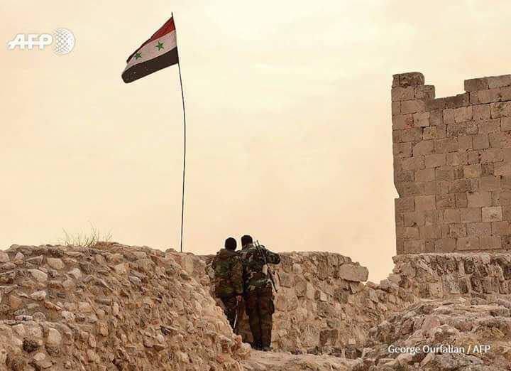 SyriaFlagAleppoCitadel.jpg