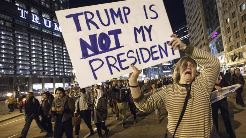 These protests are totally organic. Just like they are everywhere else that elects a leader the CIA doesn't like.