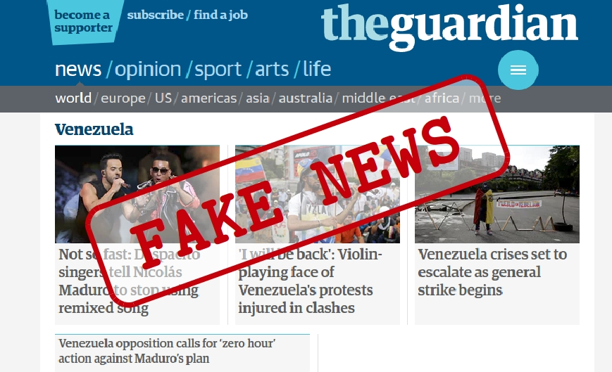 The Guardian's propaganda on Venezuela: all you need to know