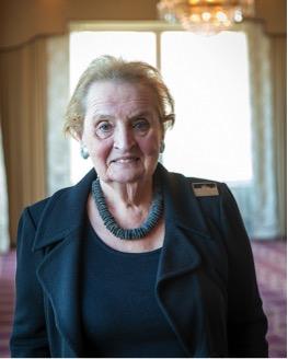 Madelaine Albright