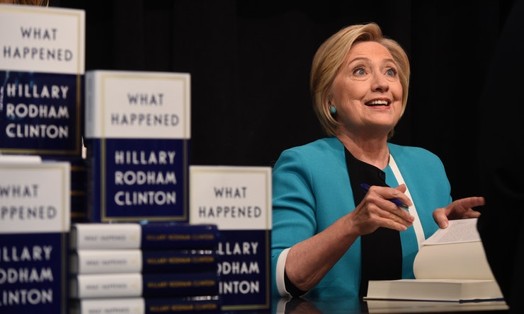 Amazon Censor Bad Reviews of Hillary Clinton's New Book