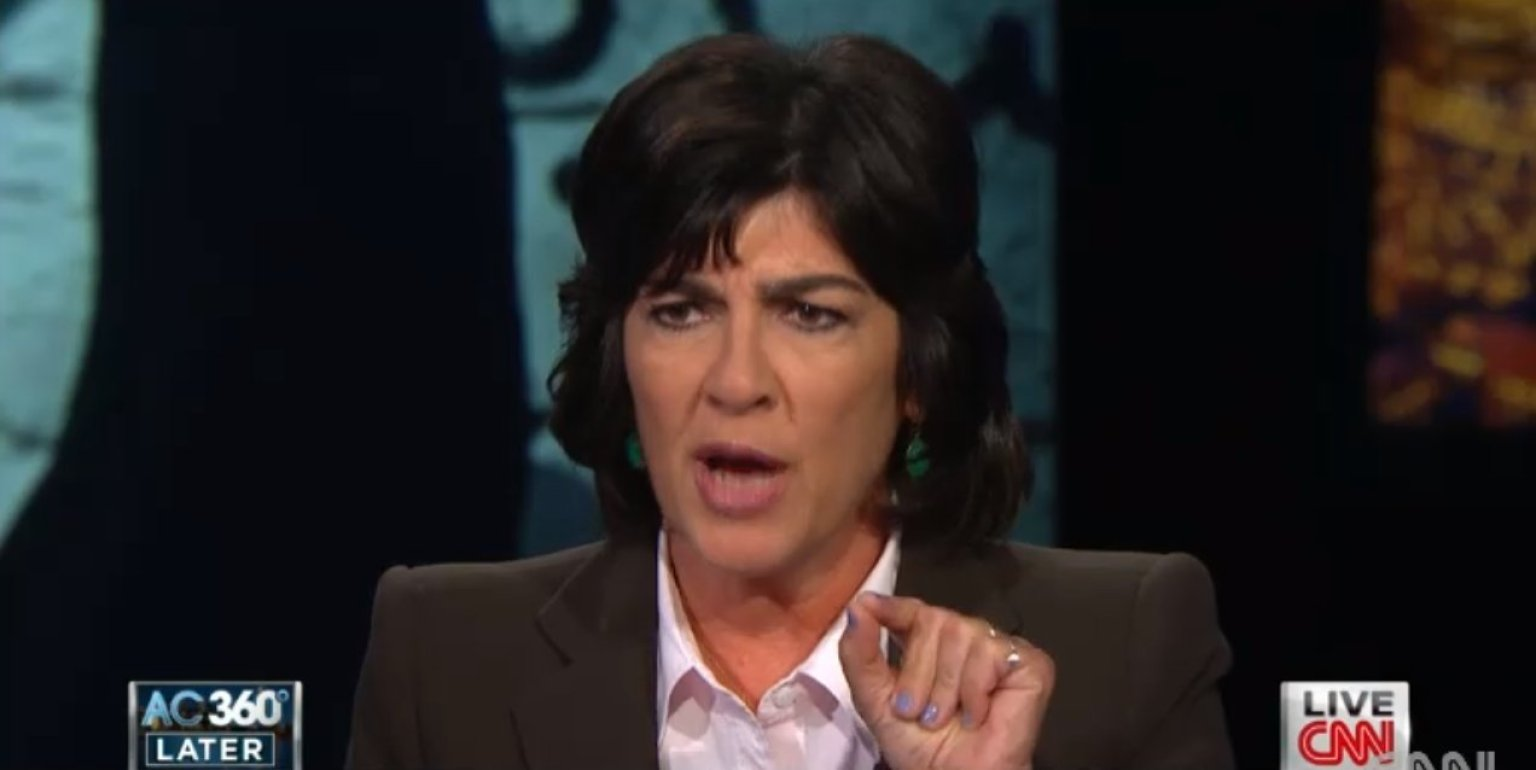 The Bloviations of Christiane Amanpour, Queen of Fake News