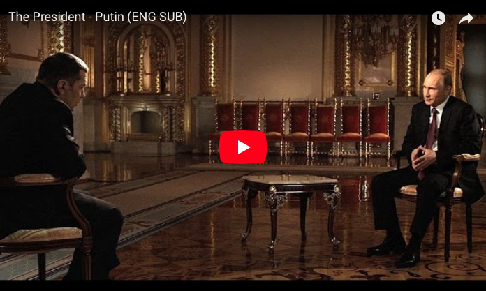 WATCH: The President, a profile of Vladimir Putin from Russian TV