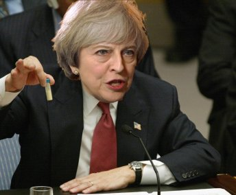 Bildergebnis für BLOODY Theresa May WAR GAMES