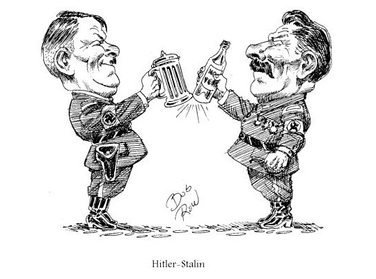 Hitler Stalin cartoon
